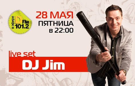 DJ JIM Live at Dfm Moscow 101,2