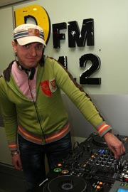 DJ JIM on DFM Moscow
